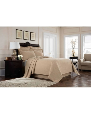 Royal Heritage Home Williamsburg Richmond Linen Solid Full Bed Skirt