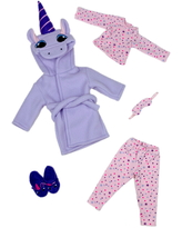 Girl's Ruby Red Fashion Friends Unicorn Dreams Doll Outfit