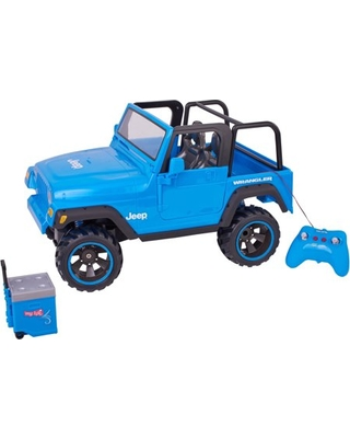 Red Brand New Plastic My Life As Animal Rescue Remote Control Jeep