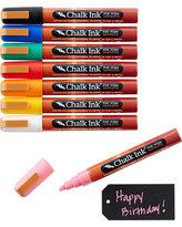 Chalk Markers Chisel Tip
