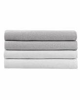 Kenneth Cole New York Solid Cotton Blend Queen Sheet Set - Light Pastel