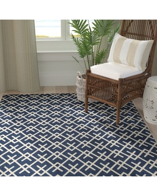 Branford Hand-Loomed Cotton Grey/Natural Area Rug Breakwater Bay Rug Size: Rectangle 4' x 6'