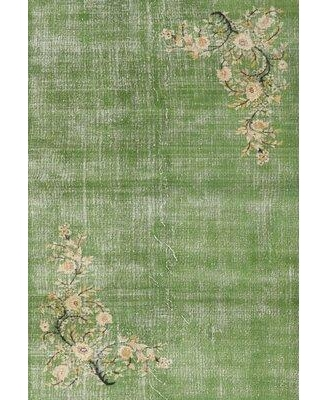 Bloomsbury Market Neutra Traditional Green/Beige Area Rug W000090732 Rug Size: Rectangle 5' x 7'