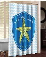 LauralHome Spring Lake Shower Curtain SPL74SC