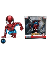 "MetalFigs Marvel Ultimate Spider-Man 6"" Collectible Die-Cast Figure"