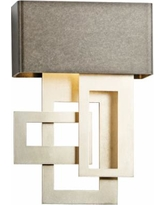 "Collage 13 3/4"" High Smoke Small LED Wall Sconce"