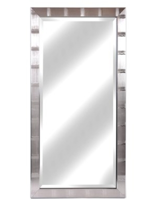 Shop Deals For Christopher Collection Silver Lined And Accented Wall Mirror 22 X 42