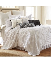 Layla Quilt Set, White