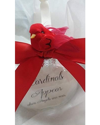 Memorial Christmas Ornament Cardinals Appear When Angels Are Near Sympathy Gift