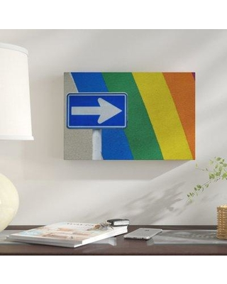 """East Urban Home 'Miami Feel' Photographic Print on Wrapped Canvas BI059717 Size: 20"""" H x 30"""" W x 2"""" D"""