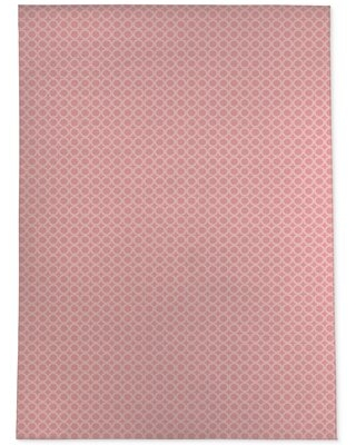 Phebe Simple Circles Light Pink Rug Wrought Studio™ Rug Size: Rectangle 3' x 5'