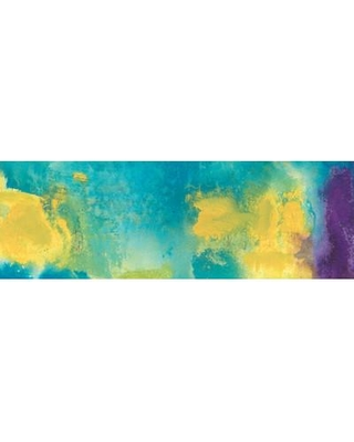 "East Urban Home Bewilder Painting Print on Wrapped Canvas USSC9018 Size: 24"" H x 72"" W x 1.5"" D"