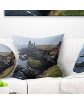 Shopping Special For Rocky And Scenic Iceland Beach Pillow East Urban Home Size 16 X 16 Product Type Throw Pillow