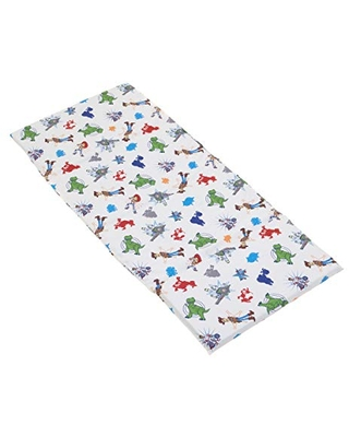 Disney Toy Story 4 - Blue, Green, Red & White Preschool Nap Pad Sheet