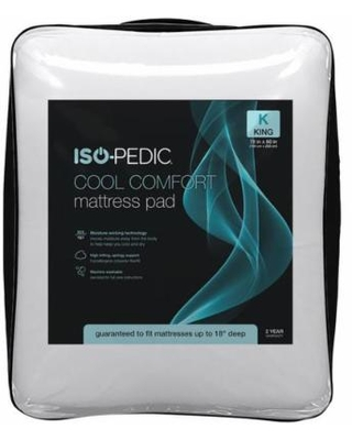 Iso-Pedic Cool Comfort Mattress Pad