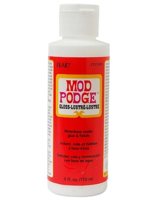 Mod Podge® Gloss in Clear | 4 oz | Michaels®
