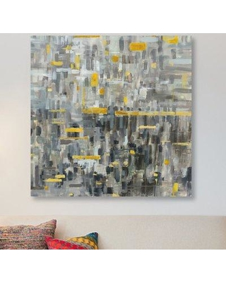 """East Urban Home 'Reflections IV' Painting Print on Wrapped Canvas ESUR1606 Size: 18"""" H x 18"""" W x 1.5"""" D"""
