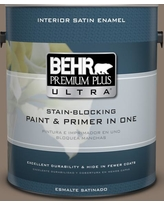 Spectacular Sales For Behr Ultra 1 Gal Mq2 37 Eiffel For You Extra Durable Satin Enamel Interior Paint Primer