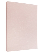 """Jam Paper 8.5"""" X 11"""" Parchment Cardstock, 50 Sheets in Salmon Pink 