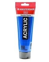 Amsterdam Standard Series Acrylic Paint primary cyan 250 ml [Pack of 2]