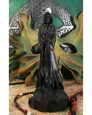DarknessVoid Santa Muerte Lady Death Grim Reaper Black Beeswax Candle FREE  USA SHIPPING from Amazon | myweddingShop