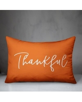 August Grove Tallant Thankful Blessed Reversible Lumbar Pillow Cover W000288542