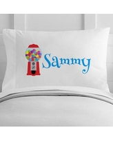 4 Wooden Shoes Personalized Gumball Machine Toddler Pillow Case WF-12-124