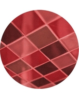 Amazing Deal On Comae Geometric Wool Red Area Rug East Urban Home Rug Size Round 3