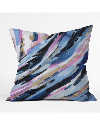 Laura Fedorowicz Abstract Oversize Square Throw Pillow Blue - Deny Designs