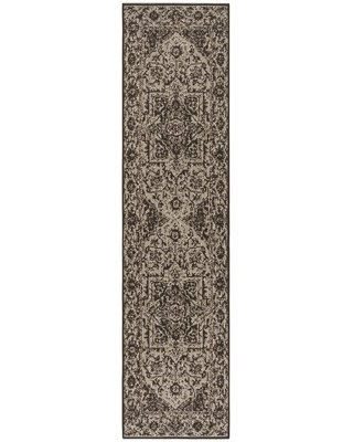 Hoover Brown Area Rug Canora Grey Rug Size: Runner 2' x 8'