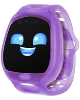 Little Tikes Tobi 2 Robot Purple Smartwatch with Head-to-Head Gaming, Advanced Graphics, Motion-Activated Selfie Camera, Fun Expressions, Games, Pedometer, Splashproof, Wireless Connectivity, Video 6+