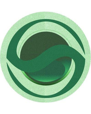 East Urban Home Wool Green Area Rug X113669725 Rug Size: Round 5'