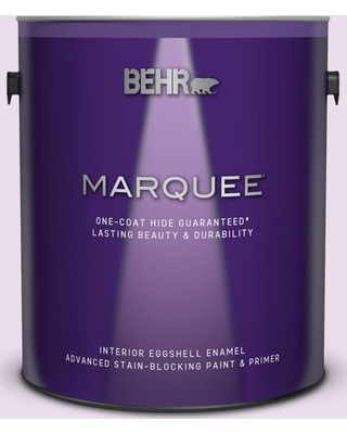 BEHR MARQUEE 1 gal. #650A-2 Ice Ballet Eggshell Enamel Interior Paint and Primer in One