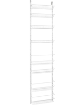 ClosetMaid 8-Tier Over-the-Door Adjustable Wire Rack - White, White - Dnu