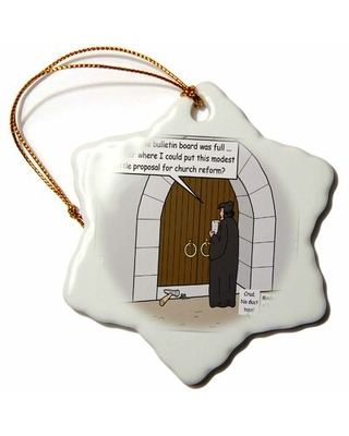 Luther Holiday Shaped Ornament The Holiday Aisle®