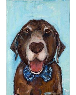 "Marmont Hill 'Gus' by Tori Campisi Painting Print on Wrapped Canvas MH-TORI-400-C- Size: 24"" H x 16"" W"