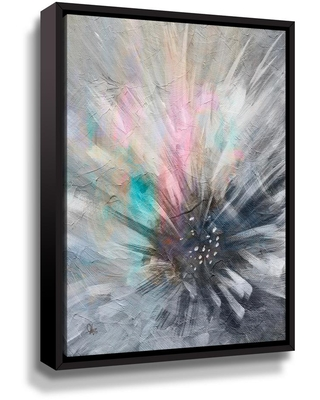 ArtWall Right Here Waiting by Scott Medwetz Framed Canvas Wall Art, Multi-colored