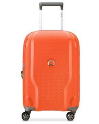 Delsey Tangerine Clavel 19 Inch Expandable Spinner Carry On