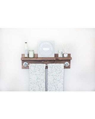 Here S A Great Price On Rustic Industrial Bath Towel Rack