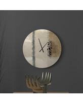 Sales On Equitable Heart To Heart Abstract Metal Wall Clock Latitude Run Size Large