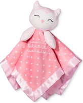 Small Security Blanket Owl - Cloud Island Pink