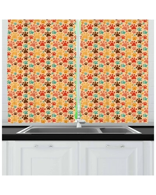 Dog Lover Kitchen Curtain East Urban Home