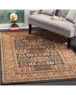 "Astoria Grand Pennypacker Oriental Brown Area Rug X111055410 Rug Size: Rectangle 5'1"" x 7'7"""