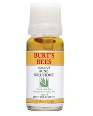Burt's Bees Natural Acne Solutions Targeted Spot Treatment for Oily Skin, 0.26 oz | CVS