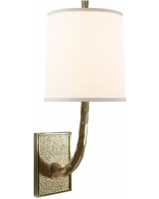 Visual Comfort and Co. Barbara Barry Lyric Branch 19 Inch Wall Sconce - BBL 2030SB-S