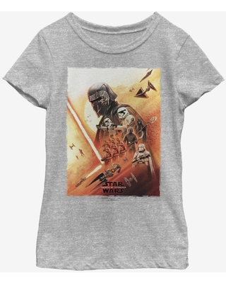Star Wars Episode IX The Rise Of Skywalker Kylo Poster Youth Girls T-Shirt