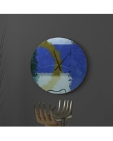 Remarkable Deals On Coruscant Pumped Up Abstract Metal Wall Clock Latitude Run Size Large