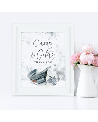 Cards and Gifts Party Sign Koyal Wholesale