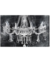 """Oliver Gal Burst Creative Crystal Attraction Graphic Art on Canvas 11367_ Size: 24"""" H x 36"""" W"""