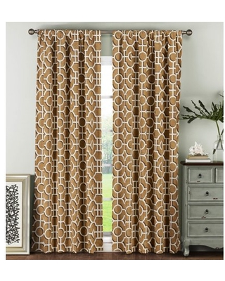 Lenox 100% Cotton Extra Wide Curtain Panel Pairs